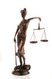 Scales of Justice Sculpture Royalty Free Stock Image