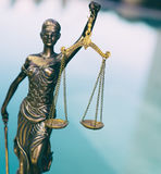 Scales of Justice symbol - legal law concept image. Royalty Free Stock Photo