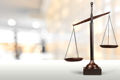 Scales of Justice. Weight Scale Balance Law Justice Gold Weight stock photos