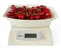 Scales med Cherry Fotografering för Bildbyråer