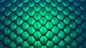 Scales of a mermaid or a dragon background. Blue green scales of a mermaid or a dragon background Stock Photography