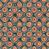 Scales motif. Abstract scales motif print template. Seamless pattern. Vector Stock Photo