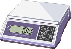 Scales of products Royalty Free Stock Photo