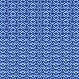 Scales seamless pattern. Abstract background. Blue and white colors Royalty Free Stock Photography