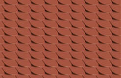 Scales seamless pattern tile texture - Vector. Illustration Royalty Free Stock Photography