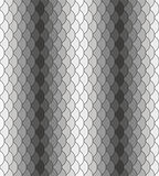 Scales Seamless Texture. Scales monochrome black-white repeating pattern. Seamless texture Royalty Free Stock Photos