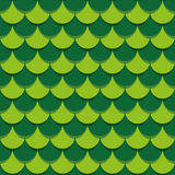 Scales Seamless Texture. Tile scales bright two-tone binary repeating pattern. Seamless texture Stock Photos