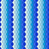 Scales Seamless Texture. Scales white and blue repeating pattern. Seamless texture Royalty Free Stock Photos