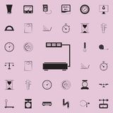Scales in the store icon. Detailed set of Measuring Elements icons. Premium quality graphic design sign. One of the collection ico. Ns for websites, web design Stock Photography