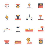Scales Weight Icon Flat Stock Photography