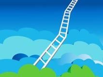 Scaletta a cielo Fotografia Stock