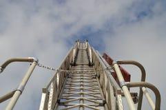 Scaletta a cielo Immagine Stock