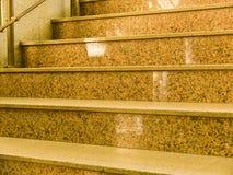 Scaletta con i punti di pietra Immagini Stock Libere da Diritti