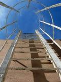 Scaletta d'acciaio 02 Immagine Stock