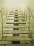 Scaletta da illuminarsi Fotografia Stock