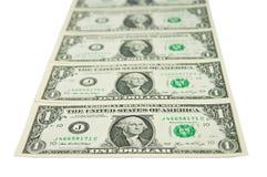 Scaletta del dollaro Fotografie Stock Libere da Diritti