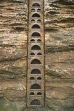 Scaletta del ferro fotografia stock libera da diritti
