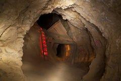 Scaletta della miniera di oro Fotografia Stock Libera da Diritti