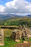 Scaletta di Cadair Idris fotografia stock