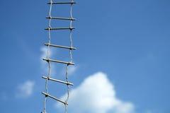 Scaletta di corda Fotografie Stock