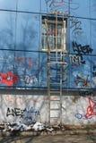 Scaletta di fuoco Fotografie Stock