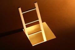 Scaletta di legno Fotografia Stock Libera da Diritti