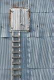 Scaletta di legno Grunge Fotografie Stock