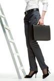 Scaletta di successo Fotografia Stock