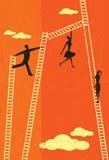 Scaletta di successo illustrazione vettoriale