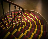 Scaletta a spirale Fotografia Stock