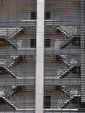 Scalette di fuga Fotografia Stock