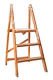 Scalette di punto di legno dell'annata Fotografie Stock