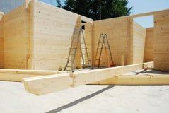 Scalette e fasci di tetto Fotografia Stock