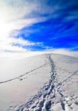 scali la collina al cielo Fotografia Stock