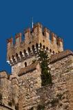 Scalieri Castle in Sirmione on Lake Garda Italy Royalty Free Stock Photo