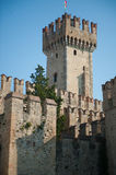 Scaliger Castle in Italy Stock Photo