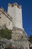 Scaliger Castle in Malcesine Royalty Free Stock Images