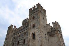 Scaliger castle sirmione. Scaliger castle in Sirmione Garda lake Stock Photo