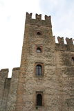 Scaliger castle sirmione. Scaliger castle in Sirmione Garda lake Royalty Free Stock Photography