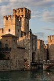 The Scaliger Castle, Sirmione, Italy Stock Photo