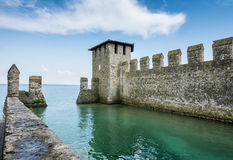 Scaliger Castle Sirmione Stock Image