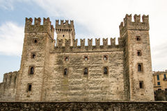 Scaliger Castle Sirmione Stock Photography