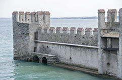 Scaliger Castle Sirmione Stock Images