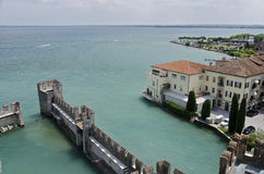 Scaliger Castle Sirmione Royalty Free Stock Photography