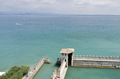 Scaliger Castle Sirmione Royalty Free Stock Images