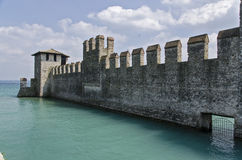 Scaliger Castle Sirmione Royalty Free Stock Photo