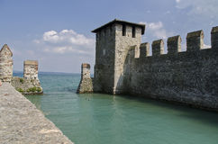 Scaliger Castle Sirmione Royalty Free Stock Photos