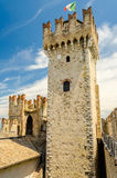 Scaliger Castle, Sirmione, Italy Stock Photo