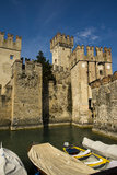 Scaliger Castle, Sirmione, Italy Stock Image