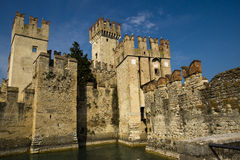 Scaliger Castle, Sirmione, Italy Royalty Free Stock Image